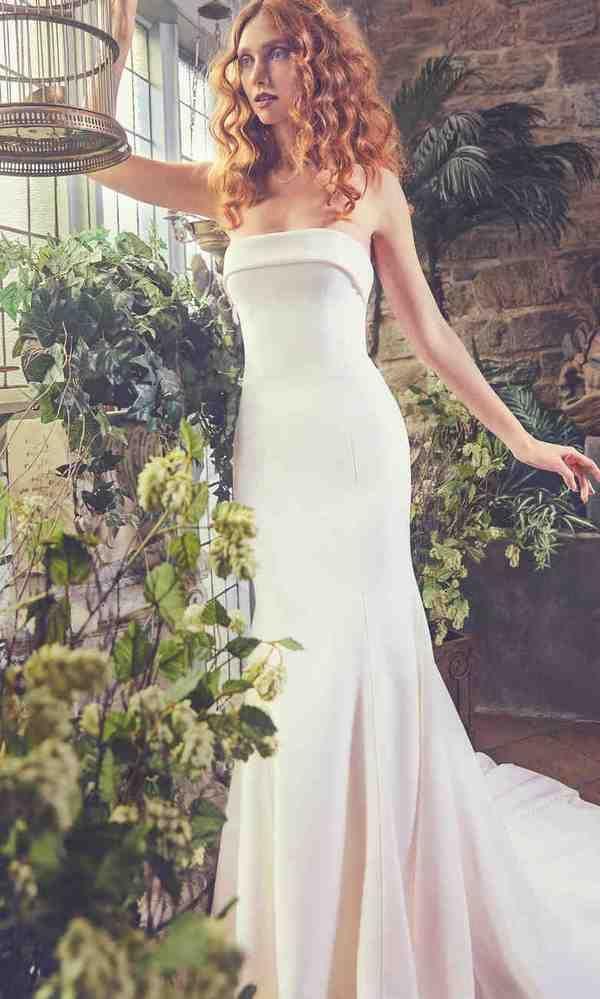 Sareh Nouri Spring 2018 Wedding Dresses   Deer Pearl Flowers