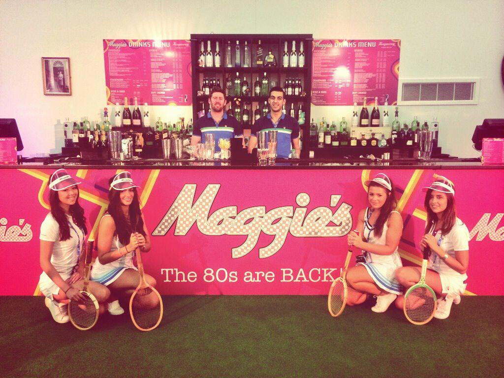 'Maggie's' Pop-Up Bar @ The Queens Club - Aegon Tennis Championship 2014
