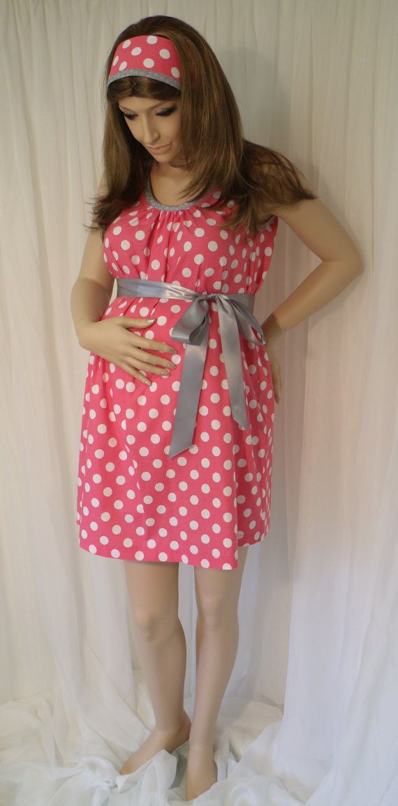 Pink Maternity Hospital Gown delivery nursing gown by MilkThreads ...