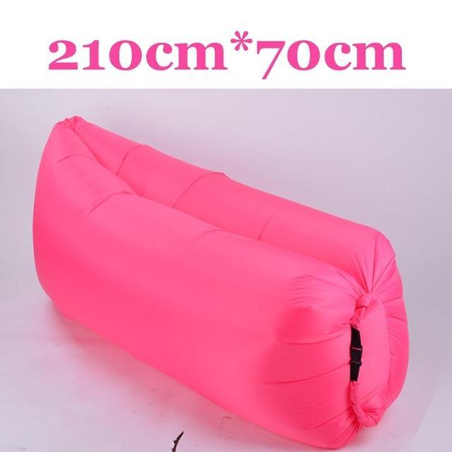 Dynamic Fast Inflatable Lazy Bag Air Sleeping Bag Outdoor Inflatable Sofa Portable Beach Inflatable Sofa Camping Air Sofa Sleeping Bags Camp Sleeping Gear