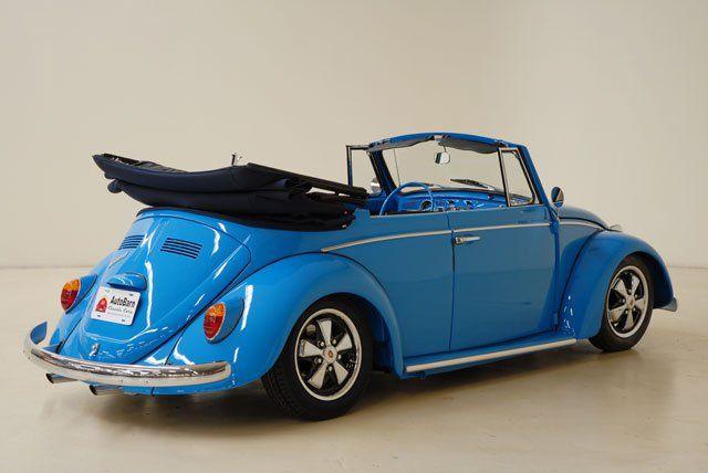 1966 Ford Grabber Blue Vw beetle convertible, Volkswagen