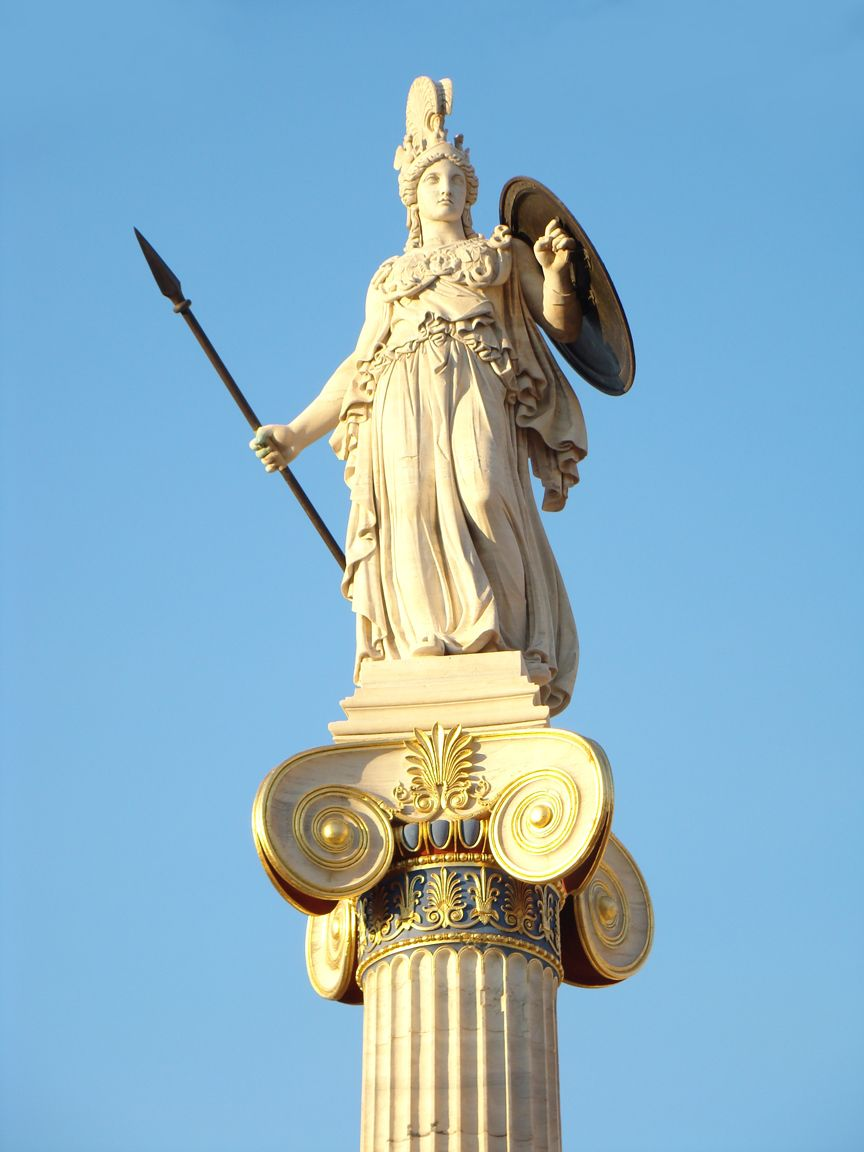 Athena what did you do to our beloved annabeth as long as we 39 re together pinterest - God and goddess statues ...