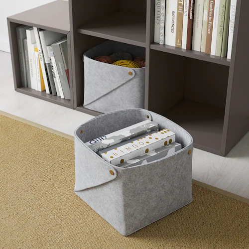 Pudda Basket Width 11 Ikea In 2020 Bedroom Storage Boxes Ikea Bedroom Storage
