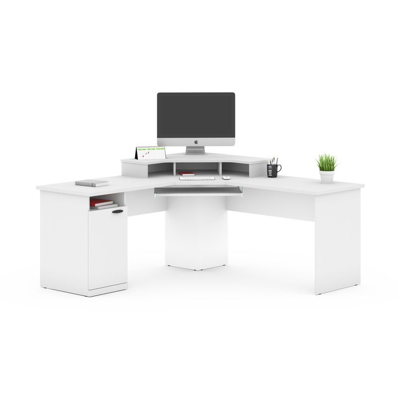 Wolters L Shape Computer Desk Corner Workstation Small Home