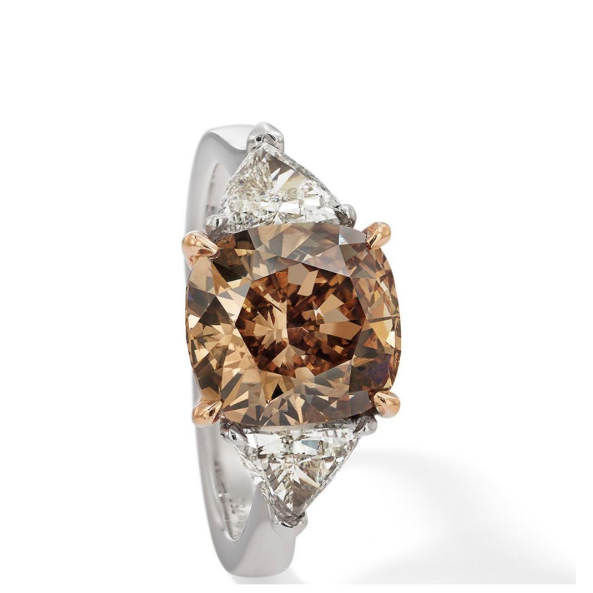 Ring By Hans D Krieger Cognac Diamond