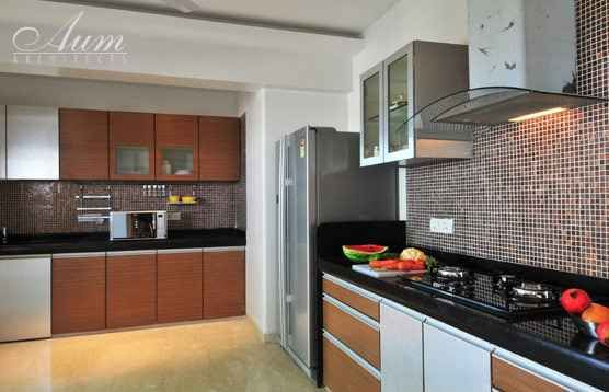 Large Kitchen Designedbalas Interior Designer In Mumbai Cool Home Kitchen Design India Design Ideas