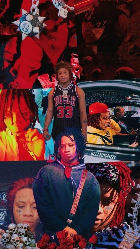 Trippie Redd Wallpaper Trippieredd Wallpapers In 2019 In 2020 Trippie Redd Rapper Wallpaper Iphone Rap Wallpaper