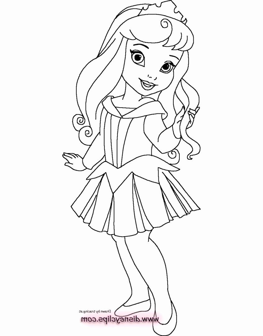 Baby Cute Princess Coloring Pages