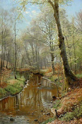 Peder Mørk Mønsted (1859-1941): A New Spring Day