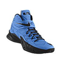 premium selection fedc2 55997 I designed the university blue Nike Zoom LeBron Soldier VIII iD men s  basketball shoe with black trim.
