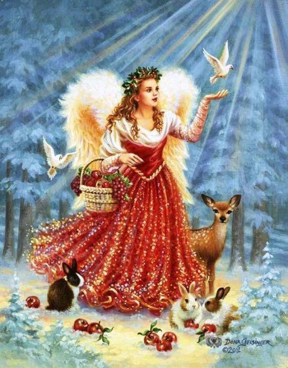 Porque Él te encomendara a los ángeles para protegerte en todos tus caminos.