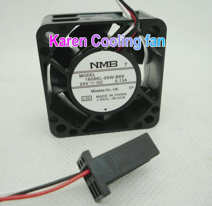 25.00$  Buy here - New Original NMB 4CM 1608KL-05W-B69 4020 24V 0.13A 3wire for Fanuc nc machine tools Cooling Fan  #buyonline
