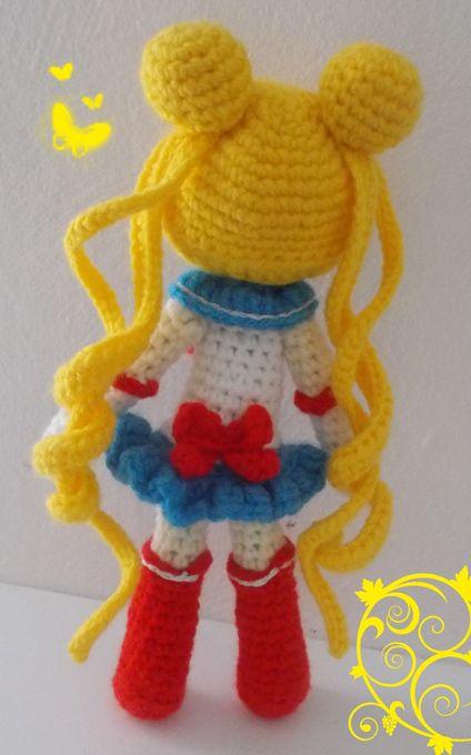 Sailor Moon Amigurumi … | Geeky girl | Pinterest | Häkeln, Gehäkelte ...