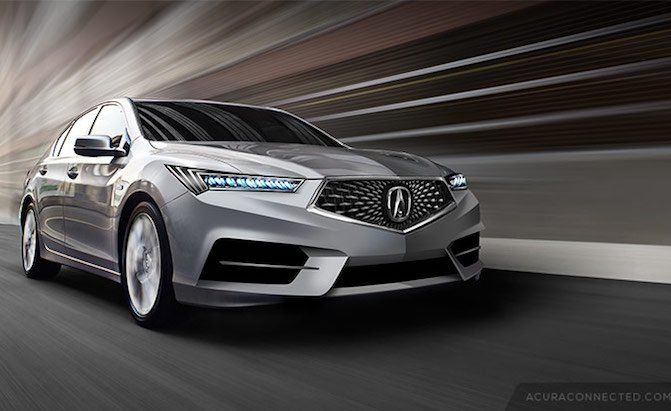 Check Out these Fan Renderings of a Future #Acura RLX>   Northwest ...