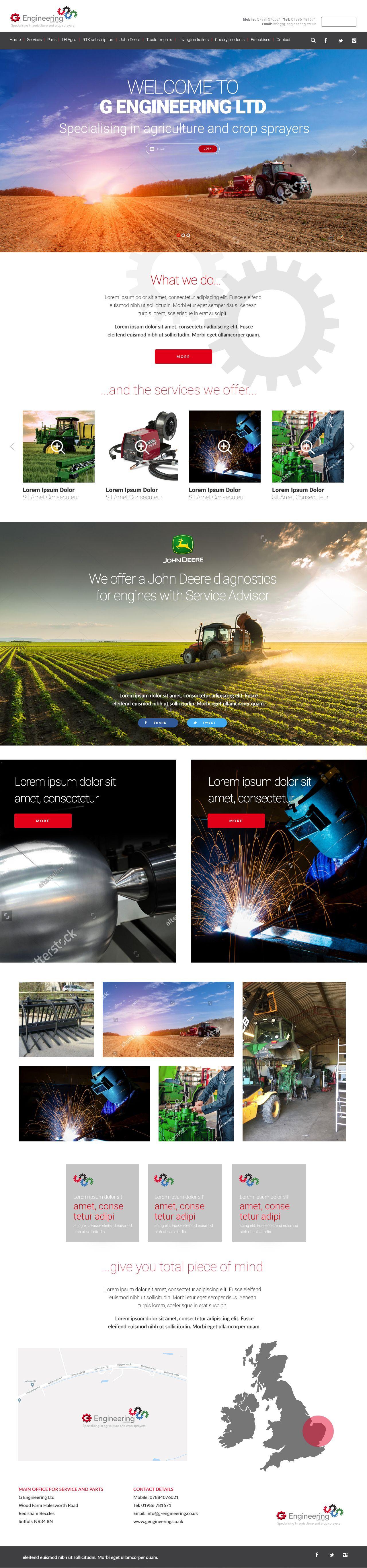 Engineering Website Designed By Www Instinct Creative Co Uk Web Design Website Design Design