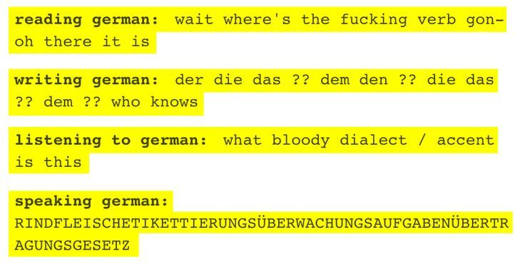 27 things people wonder about learning German as a foreign language, but you do not   - Funny -