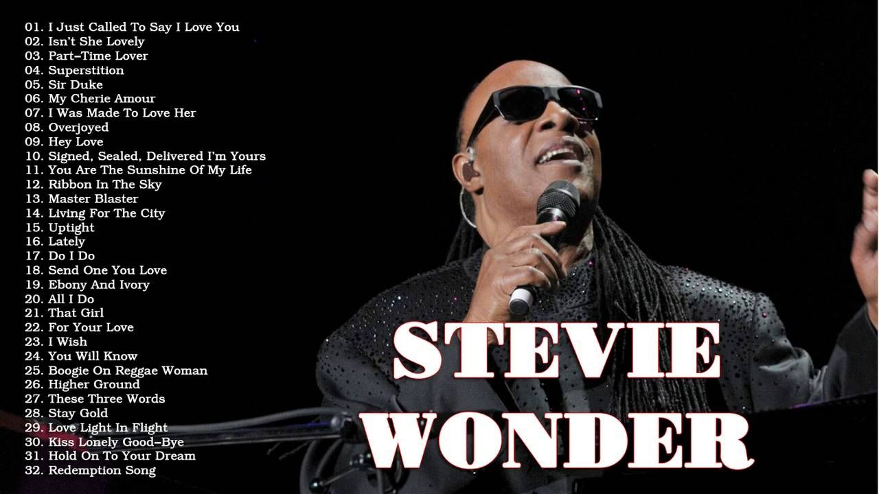 Stevie Wonder Greatest Hits The Best Of Stevie Wonder Blues And