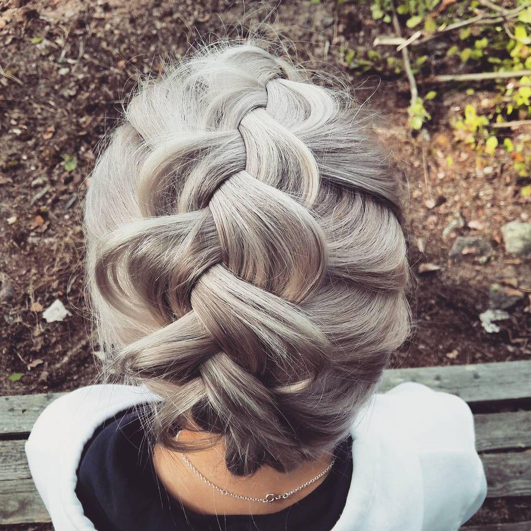 Mökkifleda siskolle! #grannyhair #revlon #pigtail #cottagehairstyles @saijatiainen