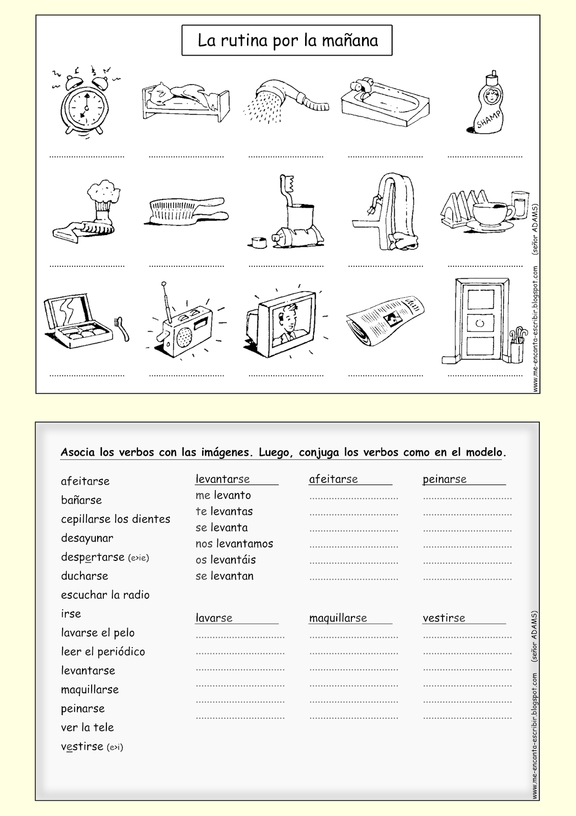 workbooks por and para practice worksheets free printable worksheets for pre school children. Black Bedroom Furniture Sets. Home Design Ideas
