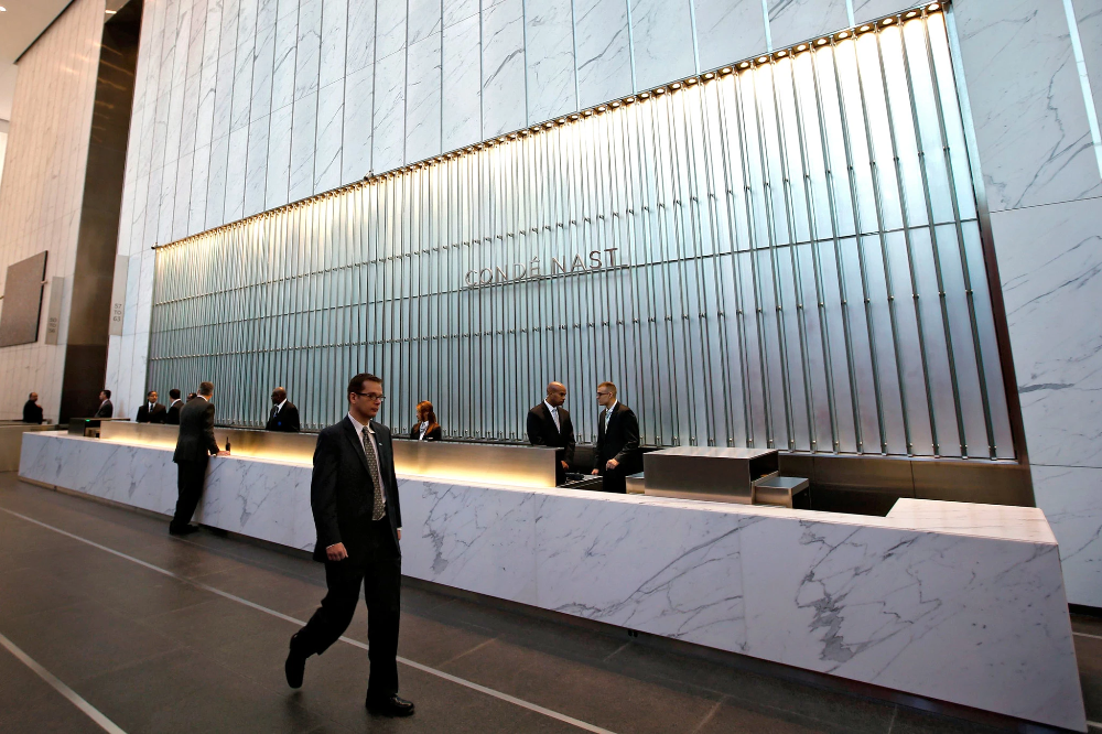 Condé Nast Colonizes Lower Manhattan With Images Conde Nast Lower Manhattan Office Nyc