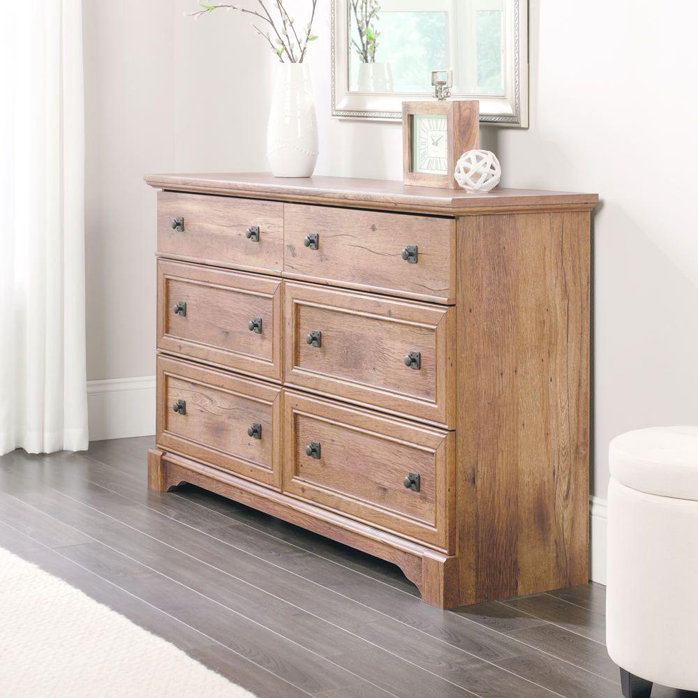 Sauder Palladia Dresser (With images) Oak dresser