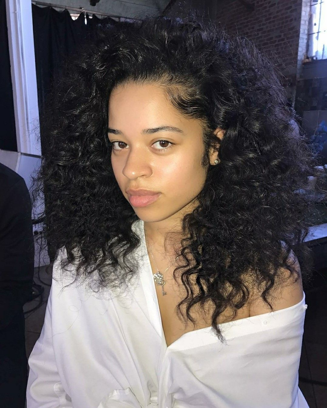 Ella Mai Natural hair styles, Natural hair mask, Curly