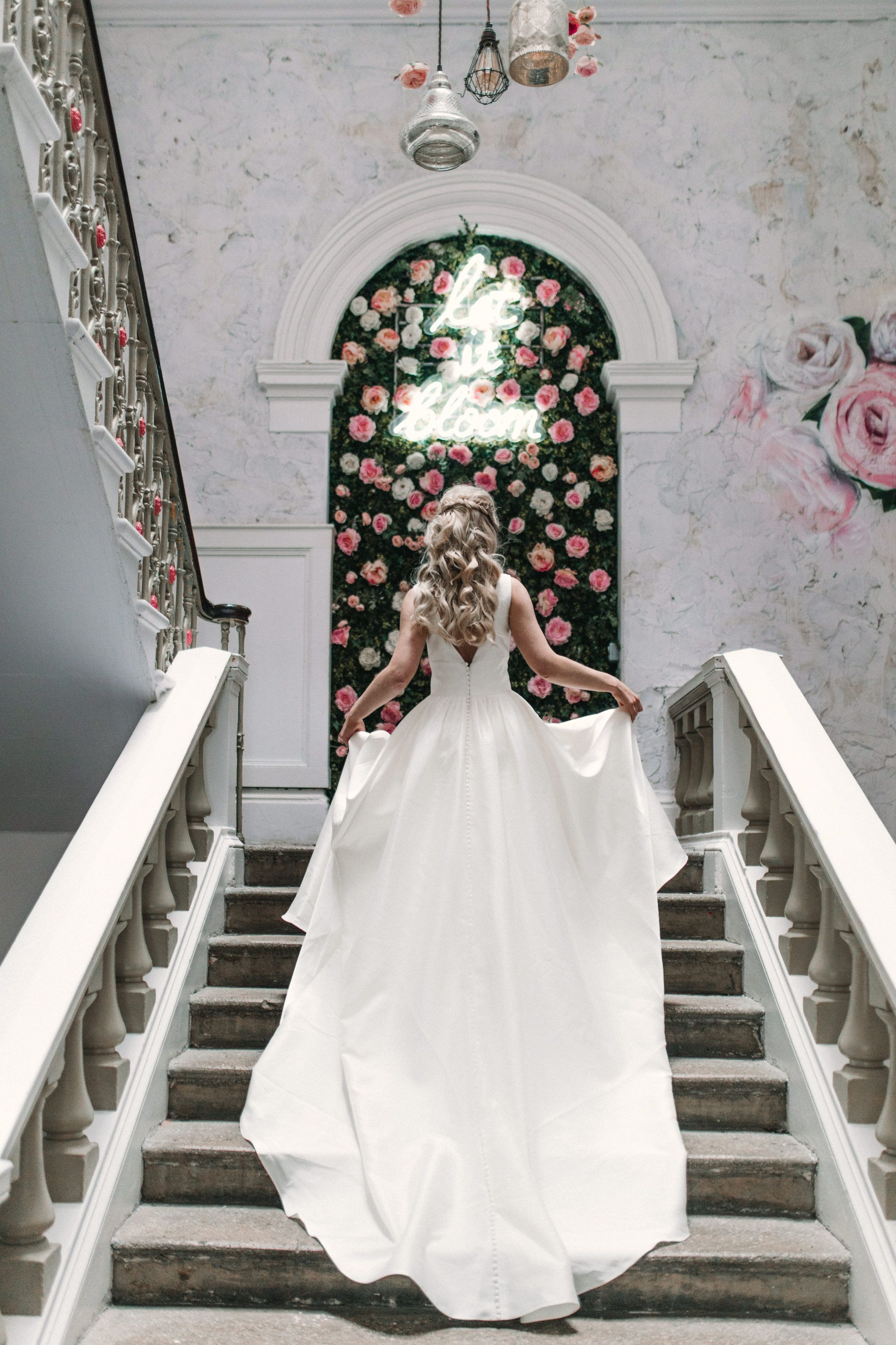 the florist, liverpool - badass bridal babe! photographer