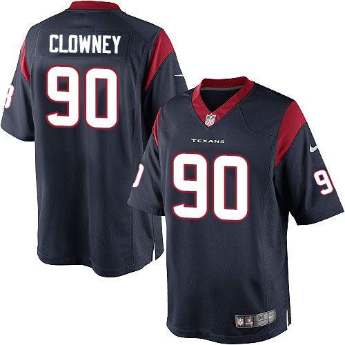 Nike Elite Jadeveon Clowney Navy Blue Youth Jersey - Houston Texans #90 NFL  Home. Nike NflCamisetas De FútbolAzul MarinoHombresColor