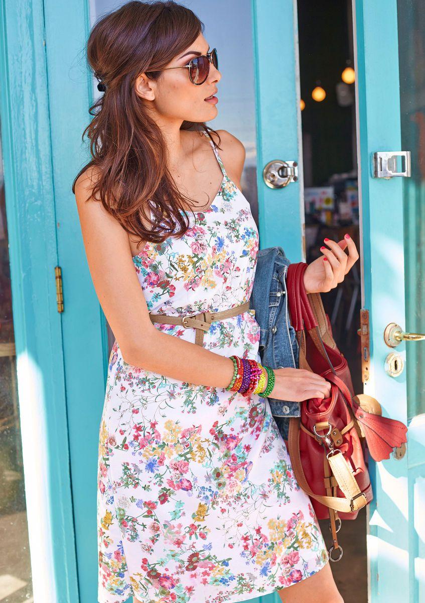 sommerkleid, aniston für damen kaufen | baur online shop