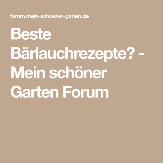 Fantastisch Mein Schöner Garten Forum