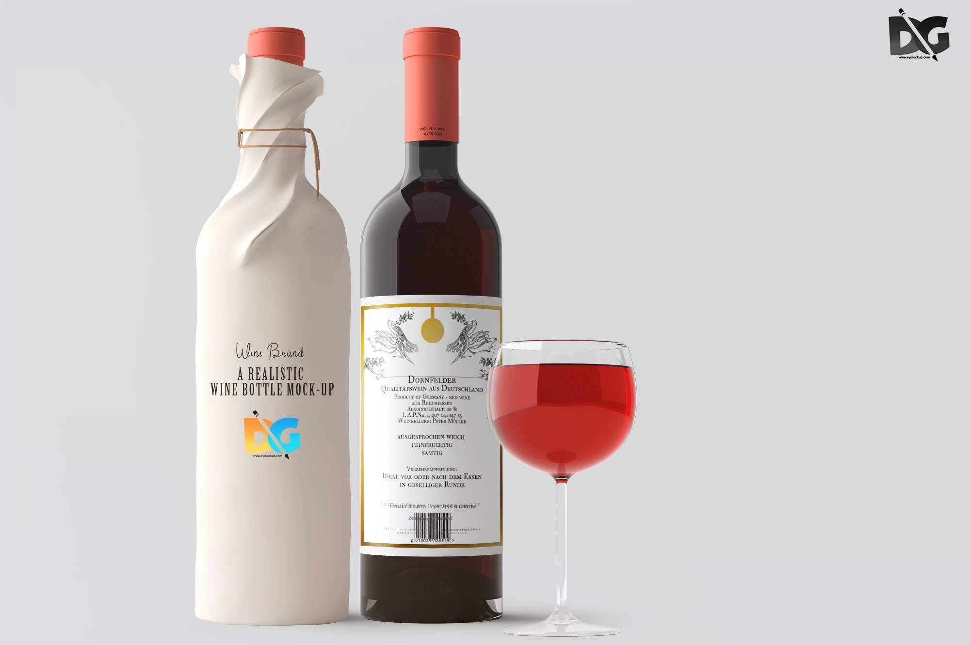 Download Free Bottle Label Packaging Mockup Label Labelpackagingmockup Mockup Packaging Bottlemockup Free Bottle Labels Wine Bottle Packaging Bottle Mockup