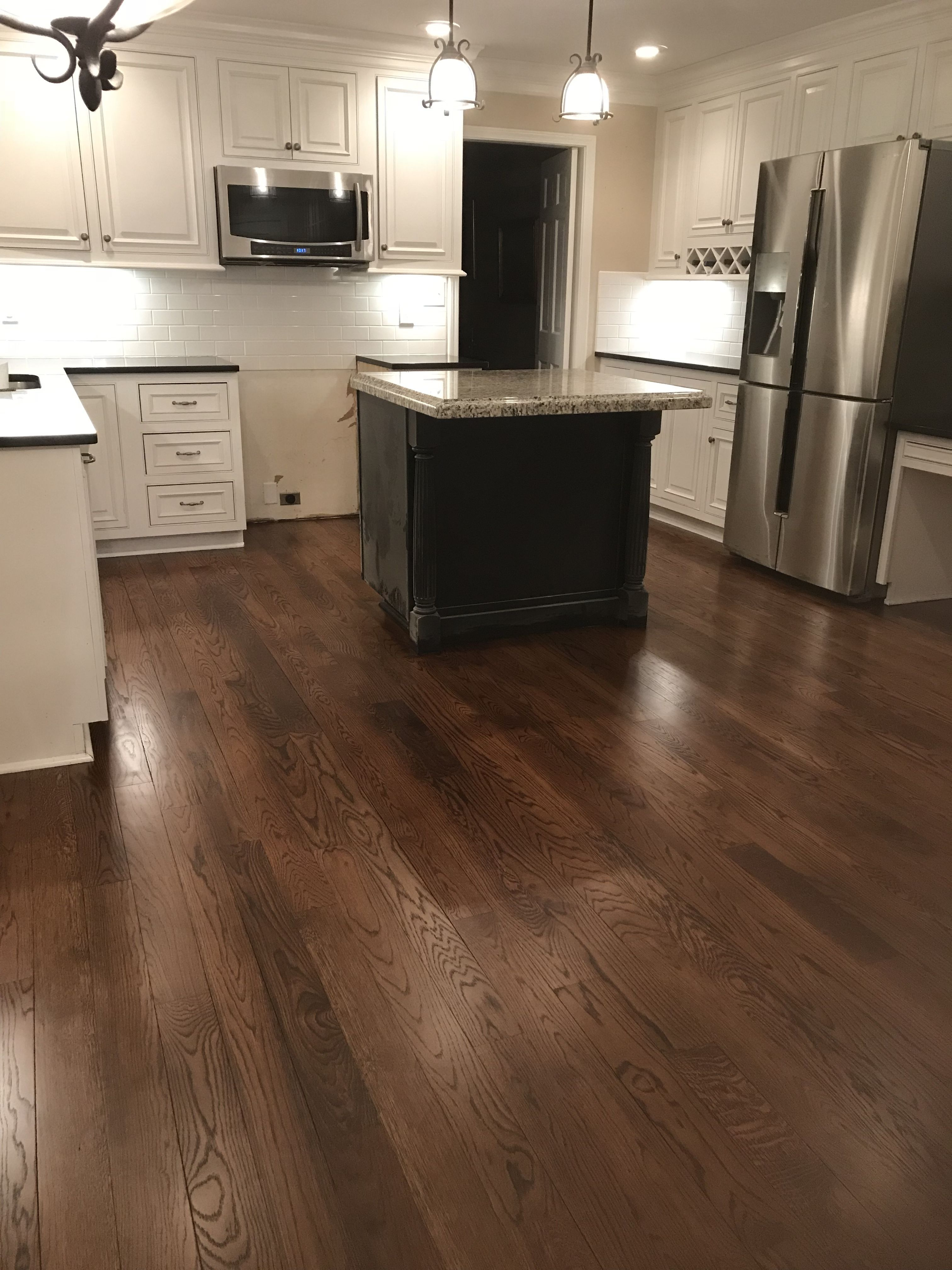 Duraseal spice brown with tinted satin polyurethane finish