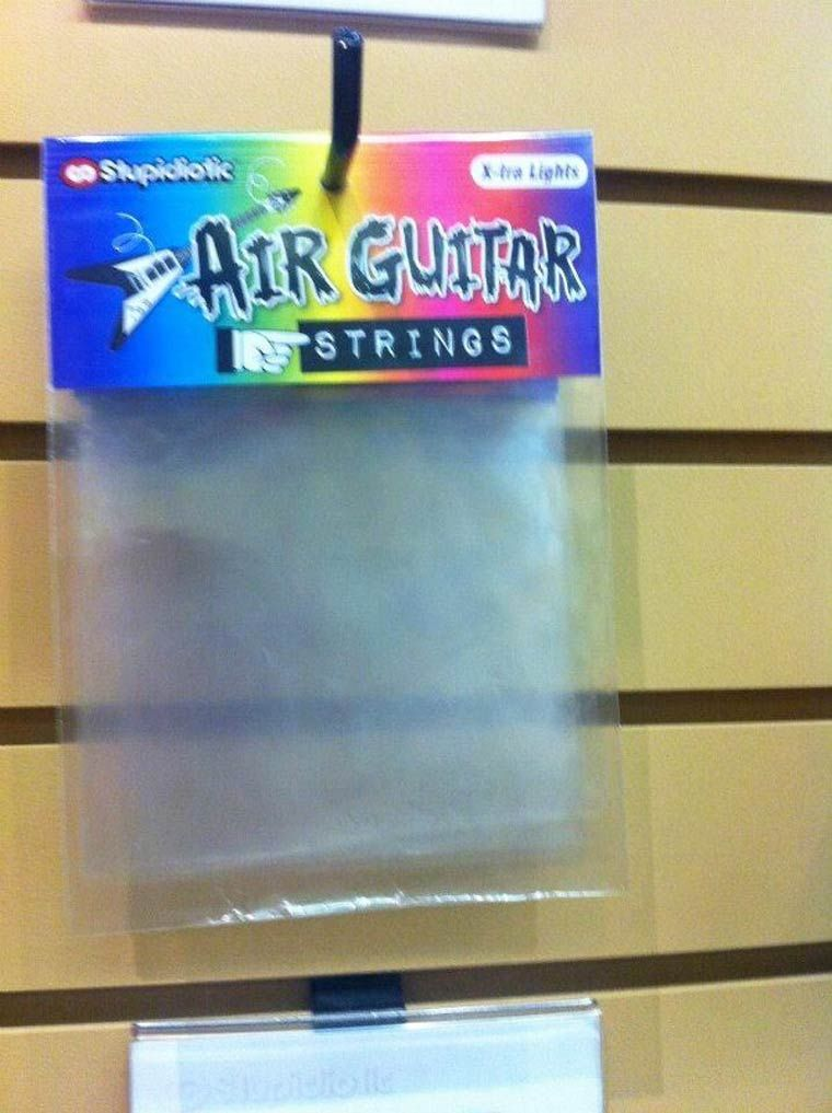 Air guitar strings | Minimize the world on a board | Pinterest