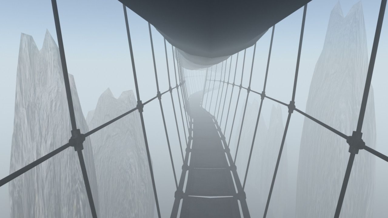 Skywalk A Myst Inspired Render By Redditor Snailboy