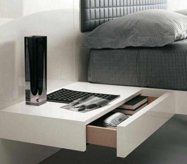 minimalistischer Nachttisch | Schlafzimmer | Pinterest ...