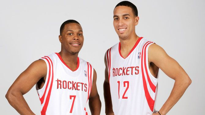 Rockets backcourt.