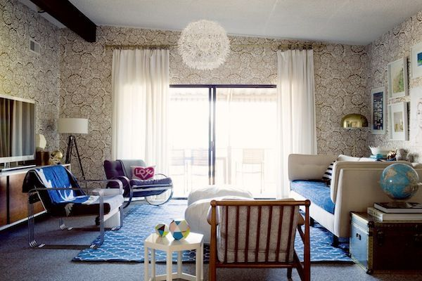 A kid-friendly,  baby proof yet stylish living room,  ohjoy 2.0. - Emily Henderson  joy cho's living room baby-proofed – stylebyemilyhende…  #Baby #Emily #Henderson #KidFriendly #living #ohjoy #Proof #Room #stylish
