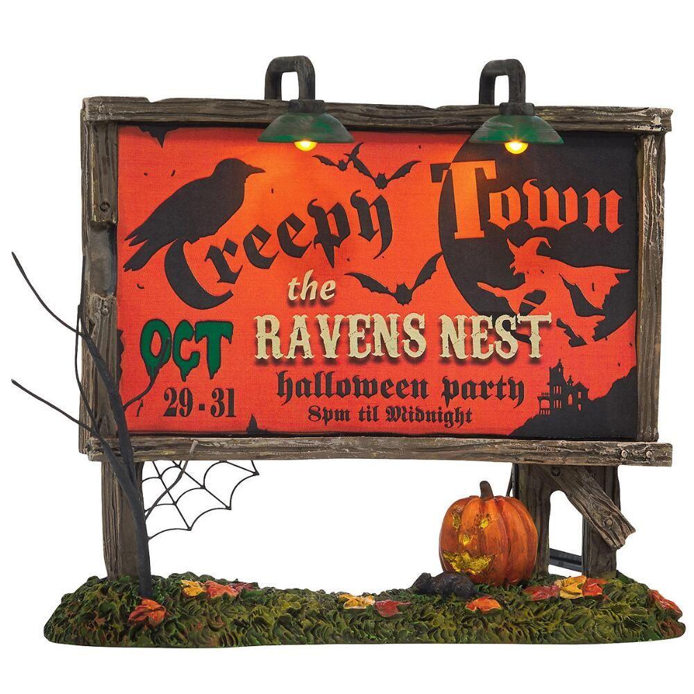 Creepy Town Lit Billboard $42.50