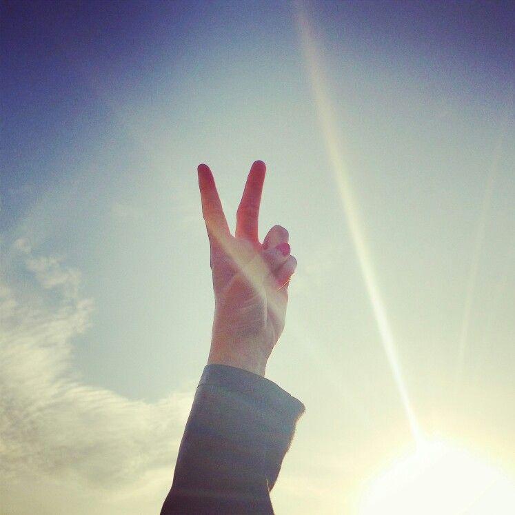 Peace. ...