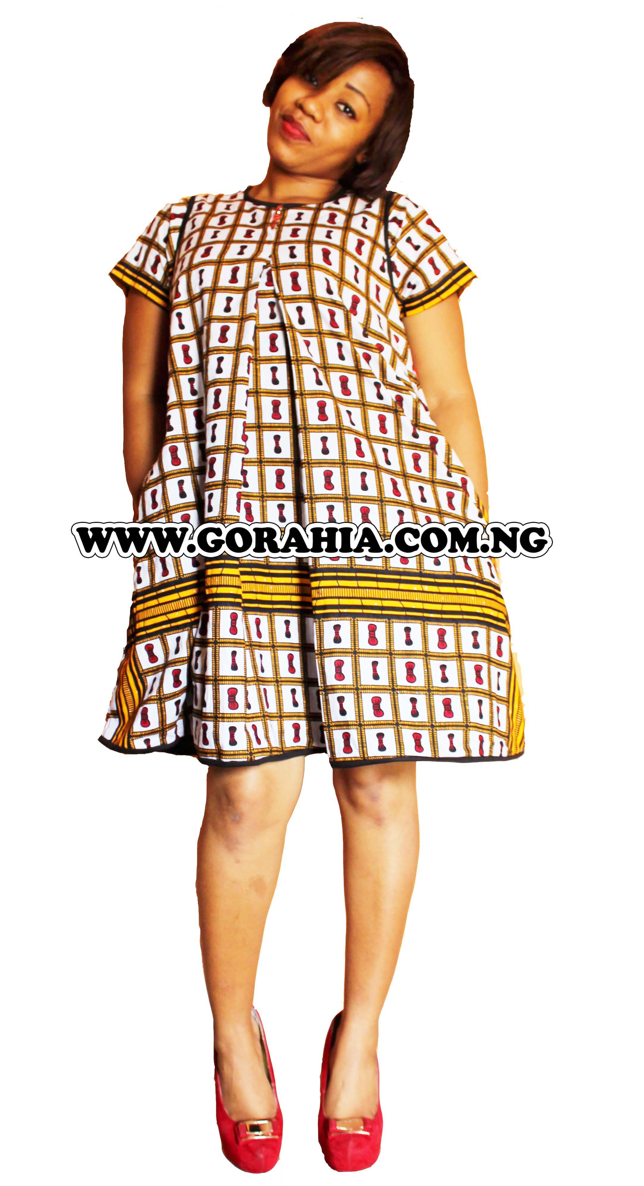 28b25a034692d Trendy ankara maternity dress for use during and after pregnancy. Made with  quality ankara fabric and high quality cord lace fabric. Available in all  sizes.