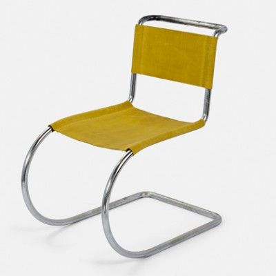 Located using retrostart.com > Cantilever MR 533 / MR 10 Lounge Chair by Ludwig Mies van der Rohe for Mücke Melder