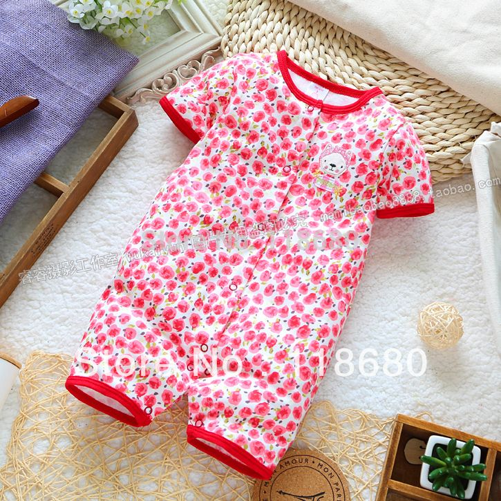 5d83b0bf3 Click to Buy    new 2015 summer baby clothing infant jumpsuit baby ...