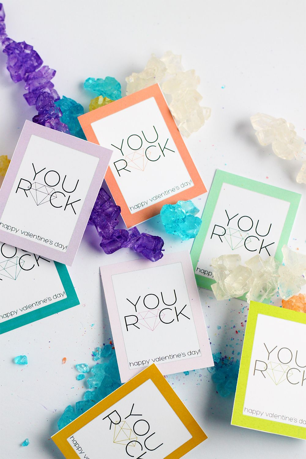 Print | Rock candy, Free printable and Messages