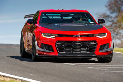 Future Collectible Cars 2018 Hagerty Hot List Camaro Zl1