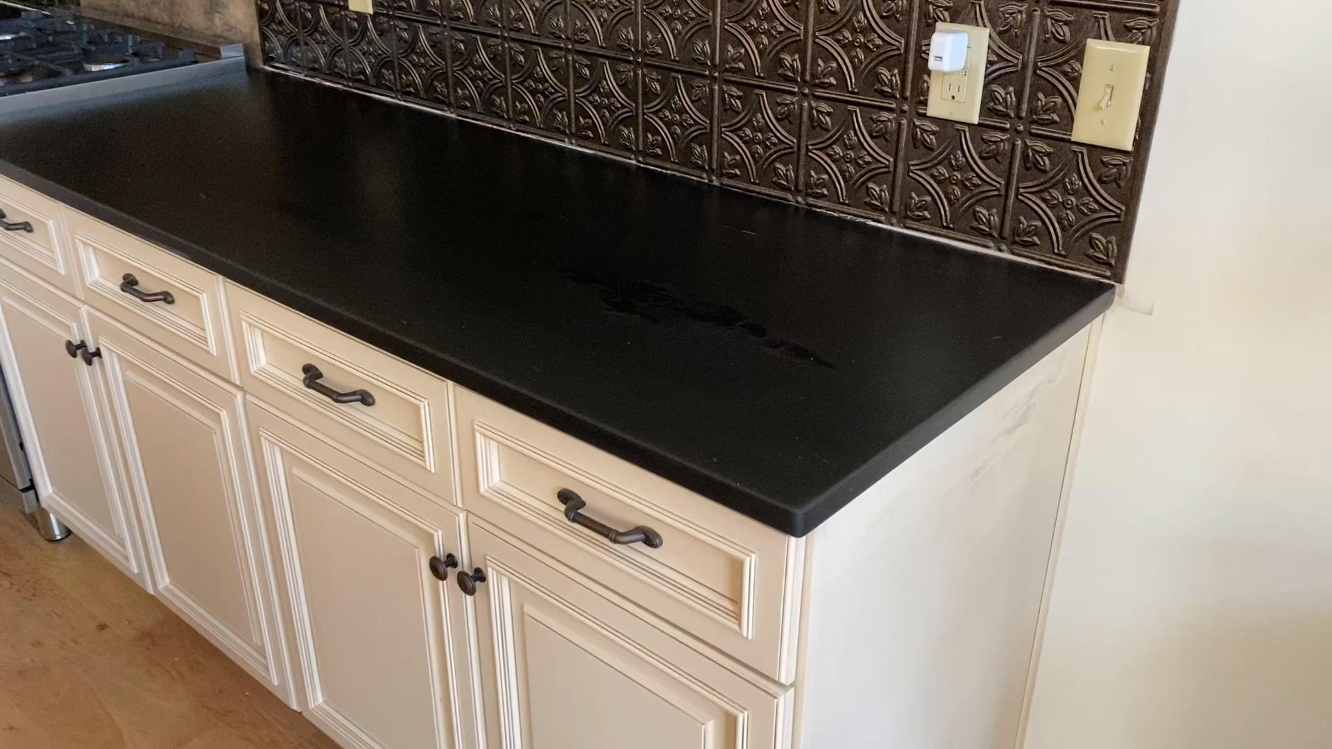 Valongo Black Slate Kitchen Counter Video Slate Kitchen Countertops Diy Countertops