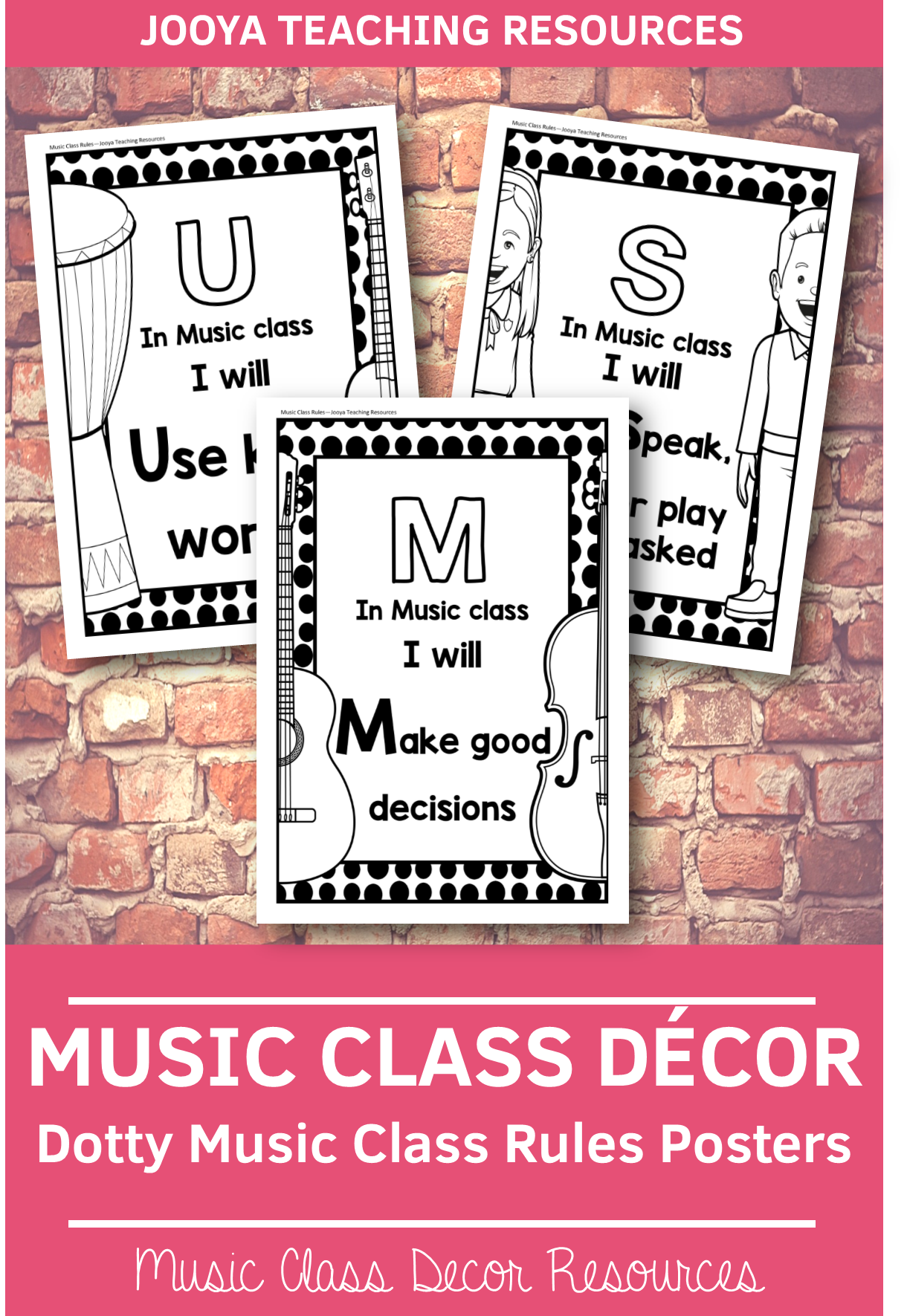 photo regarding Dotty Paper Printable titled Tunes Cl Decor - Dotty Tunes Cl Laws Posters