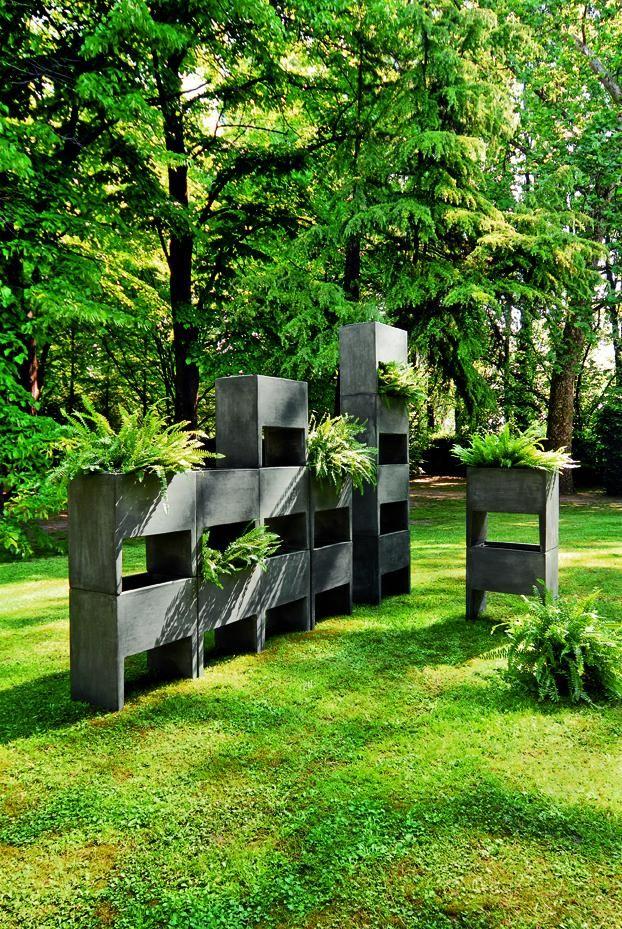 Maceteros modulares para exterior e interior arquitectura for Arquitectura de jardines