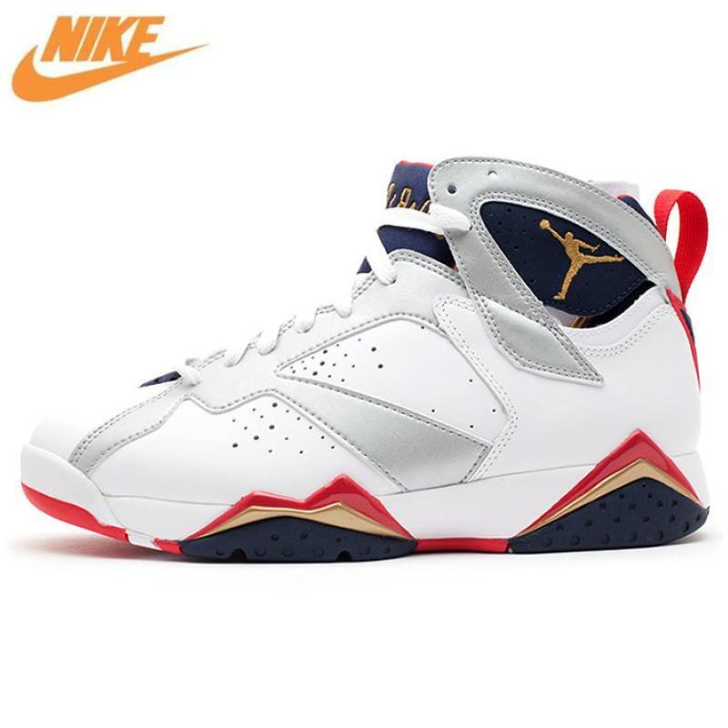 d7d856a45bf2 Nike AIR JORDAN 7 RETRO AJ7 Joe 7 Couple Models Men  s Basketball Shoes  Sneakers 304774 135