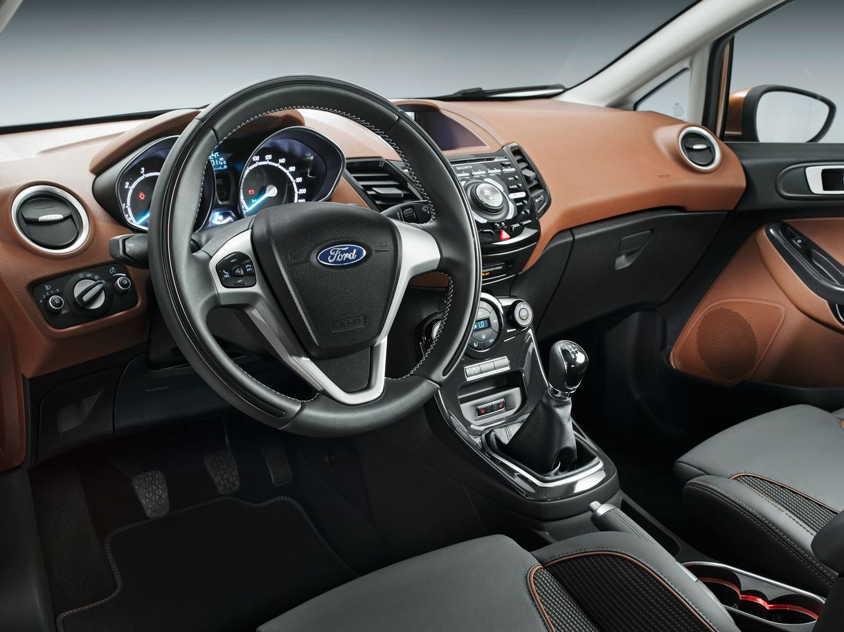 2014 Ford Fiesta Hatchback Car Interior Dashboard Wallpapers Ford Fiesta Ford Fiesta St Ford