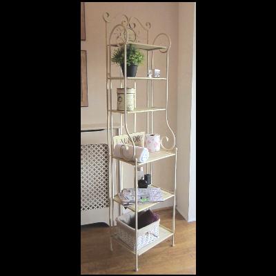 French+shabby+chic+bathrooms | french cream shelves bathroom storage ...